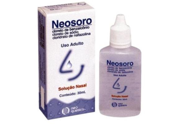 Frasco de Neosoro. (Foto: Divulgação)