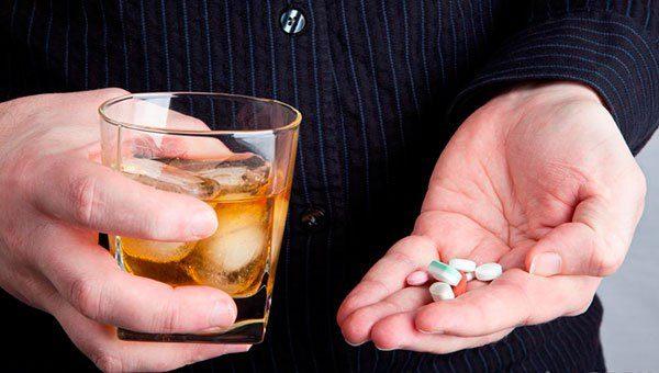 bebida alcoolica medicamentos