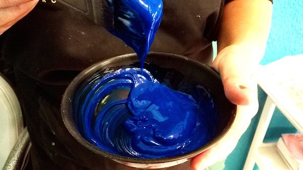 azul de metileno pintar cabelo