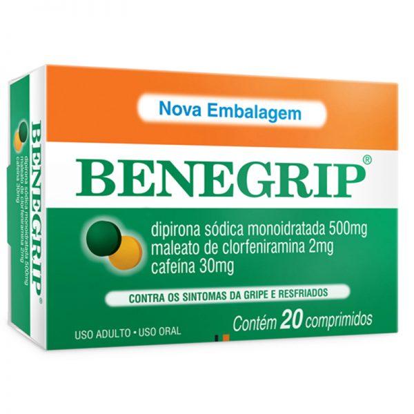 Benegrip -efeitos